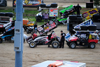 World of Outlaws New Egypt 2016